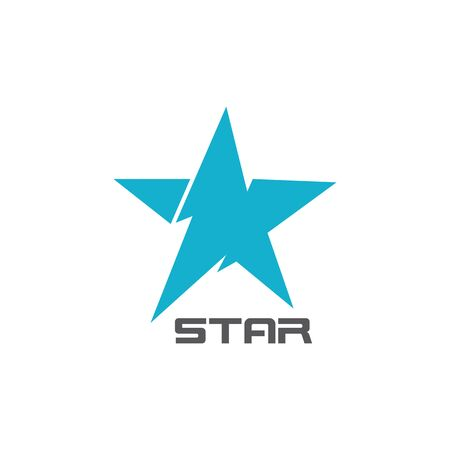 Corporate business star logo vector icon concept illustration  イラスト・ベクター素材