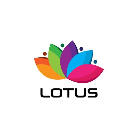 Lotus flower  icon Иллюстрация