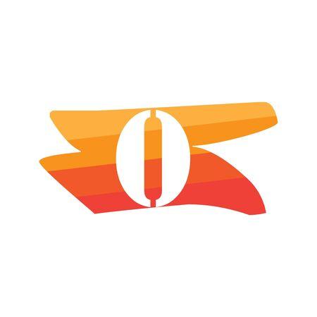 Number 0 Creative logo illustration symbol template Фото со стока - 137841204