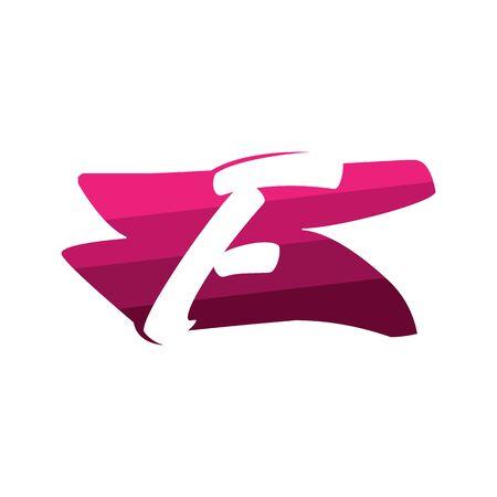 Letter F Creative logo and symbol illustration design Фото со стока - 137841207