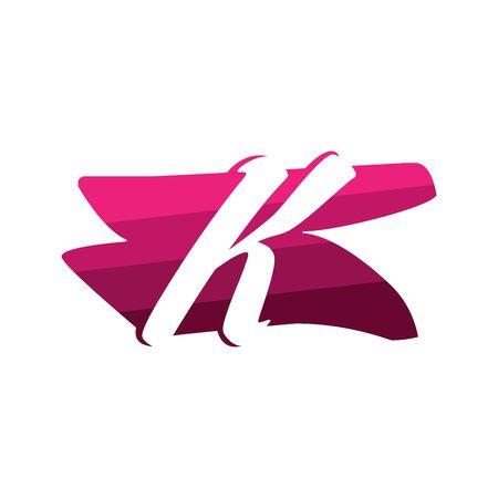 Letter K Creative logo and symbol illustration design Фото со стока - 137841214