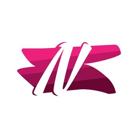 Letter N Creative logo and symbol illustration design
