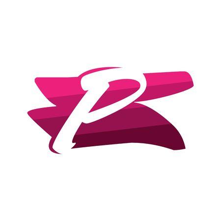 Letter P Creative logo and symbol illustration design Фото со стока - 137841221