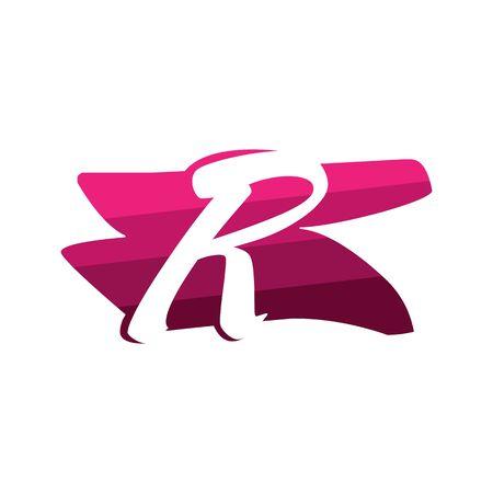 Letter R Creative logo and symbol illustration design Фото со стока - 137841229