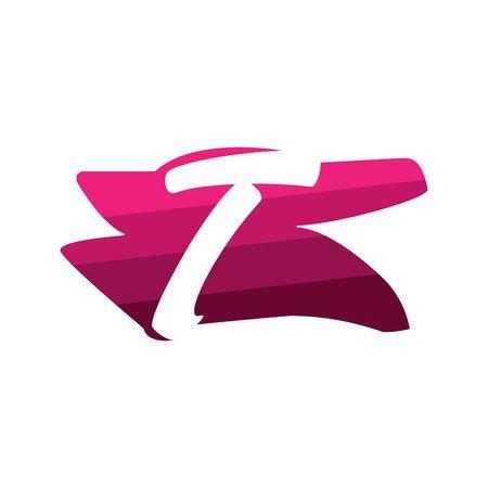 Letter T Creative logo and symbol illustration design