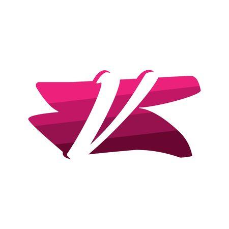 Letter V Creative logo and symbol illustration design Фото со стока - 137841233