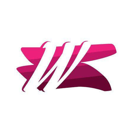 Letter W Creative logo and symbol illustration design