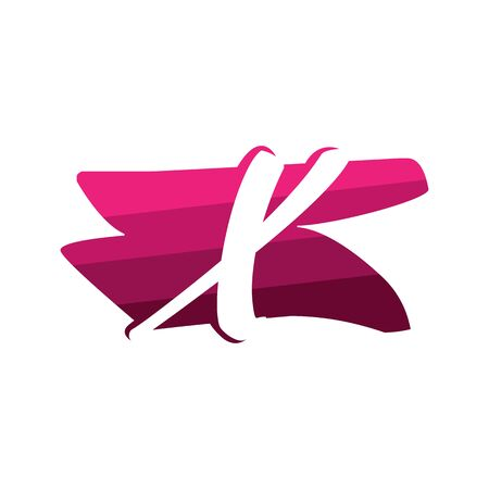 Letter X Creative logo and symbol illustration design Фото со стока - 137841235