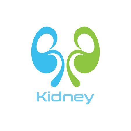 Kidney Care vector illustration design logo template symbol