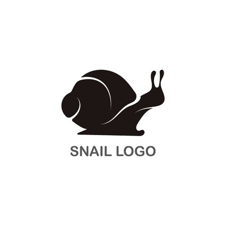 Snail logo creative template vector icon illustration design 向量圖像