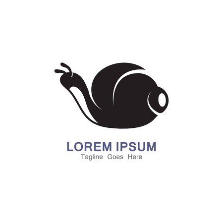 Snail Logo creative modern design inspiration vector Logo