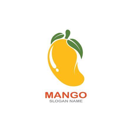 Mango Fruit  Template vector illustration design Фото со стока - 142955479
