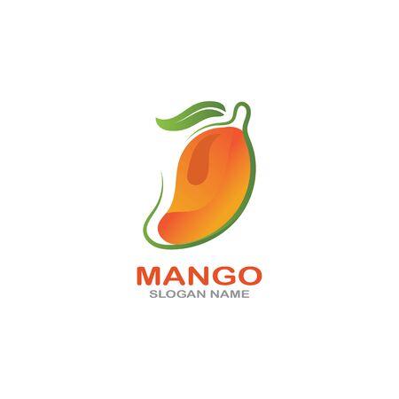 Mango Fruit  Template vector illustration design Фото со стока - 142955480