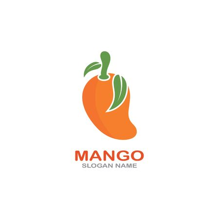 Mango Fruit  Template vector illustration design Фото со стока - 142955481
