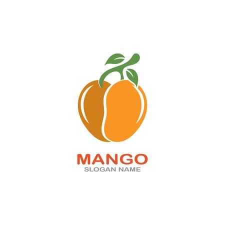 Mango Fruit  Template vector illustration design Фото со стока - 142955482