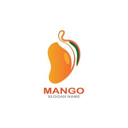 Mango Fruit  Template vector illustration design Фото со стока - 142955483