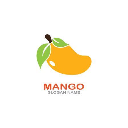 Mango Fruit  Template vector illustration design Фото со стока - 142955487