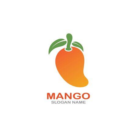 Mango Fruit  Template vector illustration design Фото со стока - 142955490