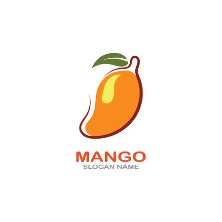 Mango Fruit  Template vector illustration design Фото со стока - 142955491