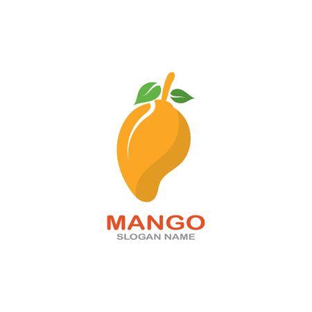 Mango Fruit  Template vector illustration design Фото со стока - 142955492