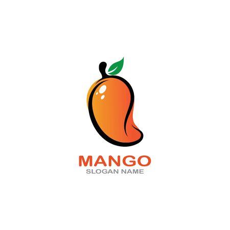 Mango Fruit  Template vector illustration design Фото со стока - 142955618