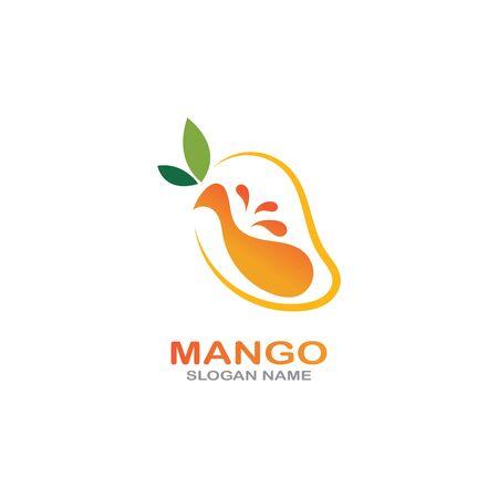 Mango Fruit in flat style. innovation vector   design icon Фото со стока - 142957587