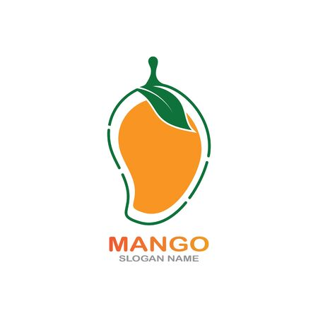 Mango Fruit in flat style. innovation vector   design icon Фото со стока - 142957599