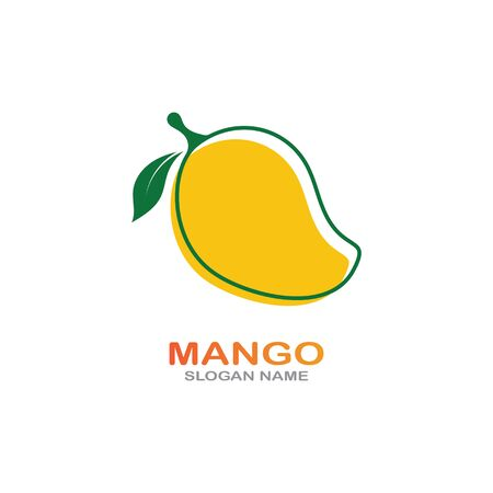 Mango Fruit in flat style. innovation vector   design icon Фото со стока - 142957601