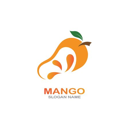 Mango Fruit in flat style. innovation vector   design icon Фото со стока - 142957681