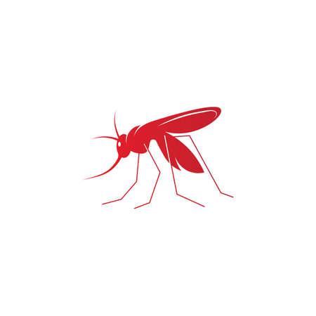 Mosquito icon vector insert mosquito flat illustration icon app 일러스트