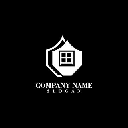Home Logo Vector Simple And Minimalist Template design