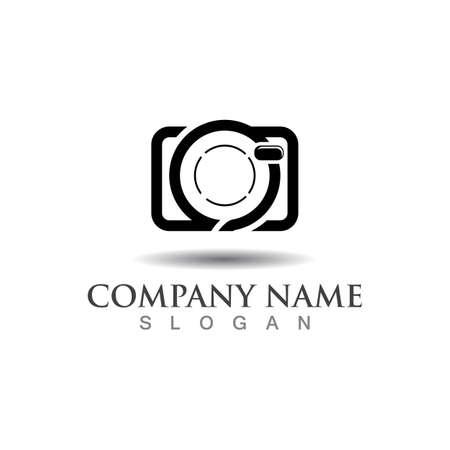 Photography logo image icon camera, Custom digital concept template design Logos
