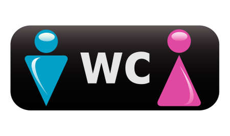 male symbol:   WC sign