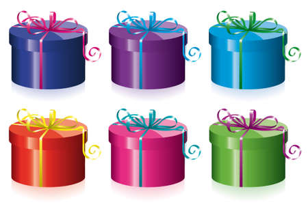 vector colorful gift boxes for any life event Vector
