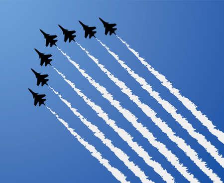 formations: vliegtuig tonen