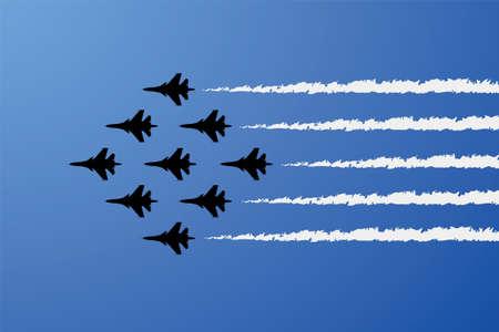 aerobatic: airplane show