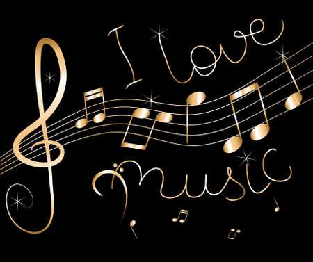 clef de fa: fond de musique abstraite de vecteur