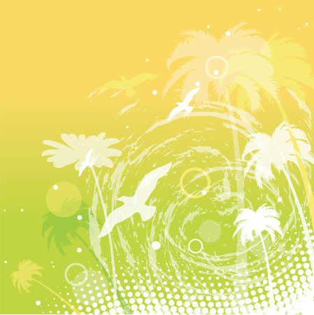 abstract summer background.  Vector