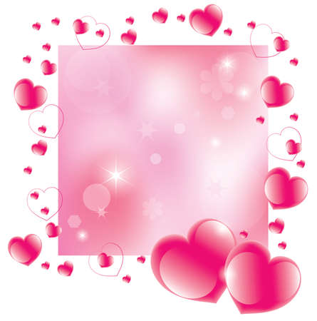 vector abstract valentines day background Vector