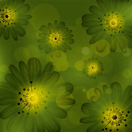 abstract floral background Stock Vector - 14321286