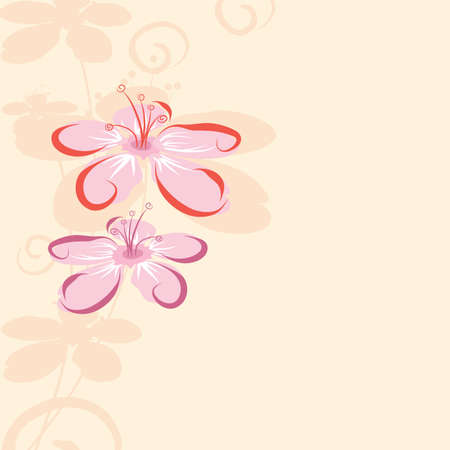 abstract floral background Stock Vector - 14822330