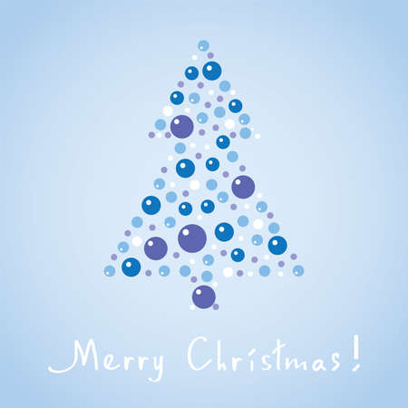 abstract christmas tree Stock Vector - 15604637