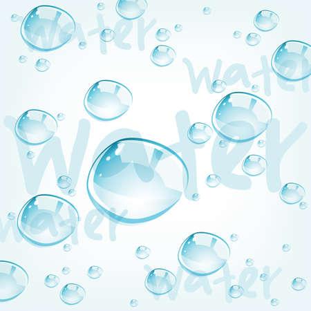 dew drop: vector water drops