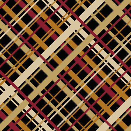endless: vector abstract seamless geometric pattern with diagonal endless stripes Illustration