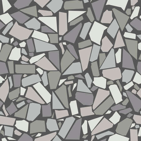 vector gray vintage ceramic tiles wall decoration, seamless pattern