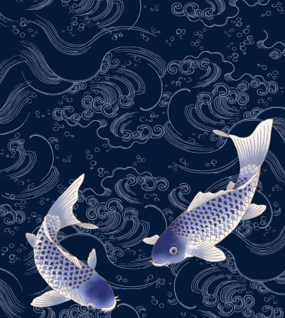 sumi: swimming fish