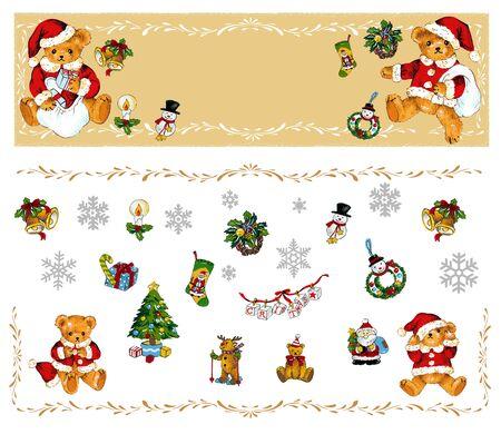 sentarse: Navidad oso