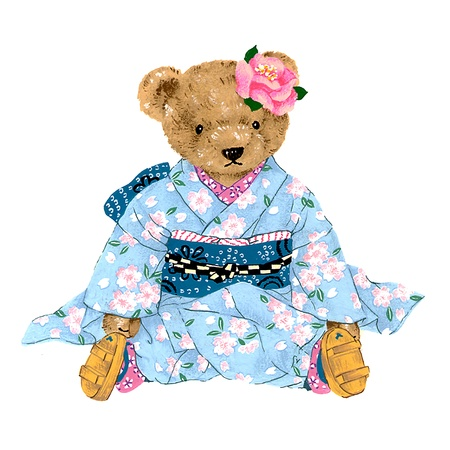 guiltless: little pretty bear   Stock Photo