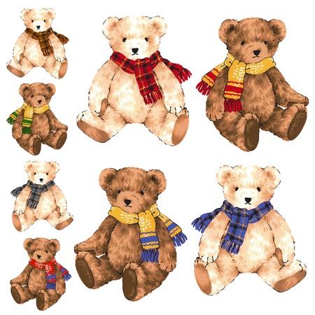 little pretty bear  Stock Photo