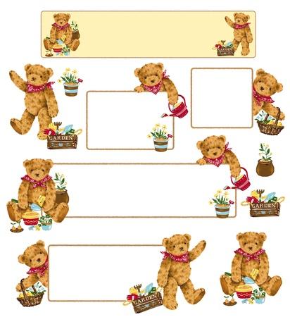 ittle: 可愛いクマ ittle pretty bear
